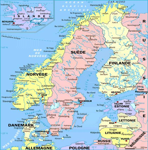 LES PAYS SCANDINAVES